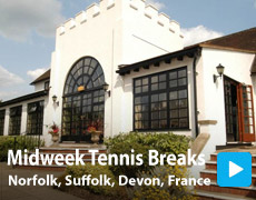 Midweek Tennis Breaks